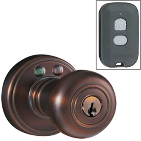 Wireless Door Knob by Wireless Remote Controlled Door Locks