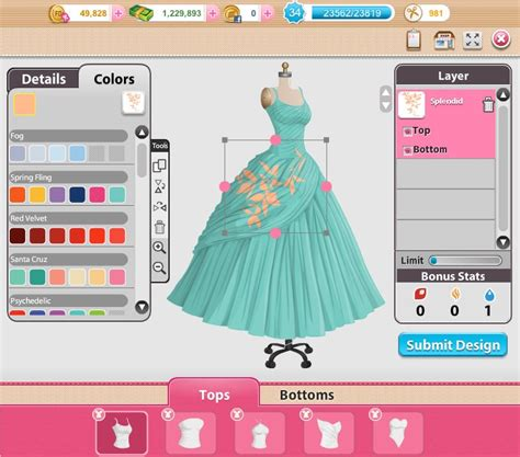 design app for clothing fashions designers games best hair style