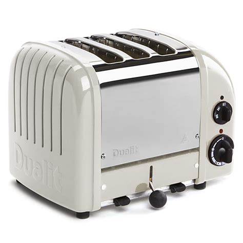 Dualit Toasters Australia dualit canvas white 3 slice toaster s of kensington