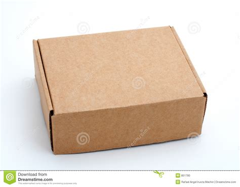 costruire una lada a led an closed cardboard box stock photo image 851780