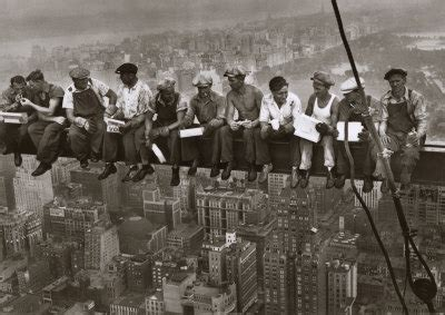 Kitchen Design Sheffield by Traveler S Life New York Skyscraper Workers Poster