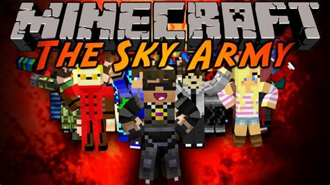 Army Of The Sky minecraft the sky army ep 1 intro server info and