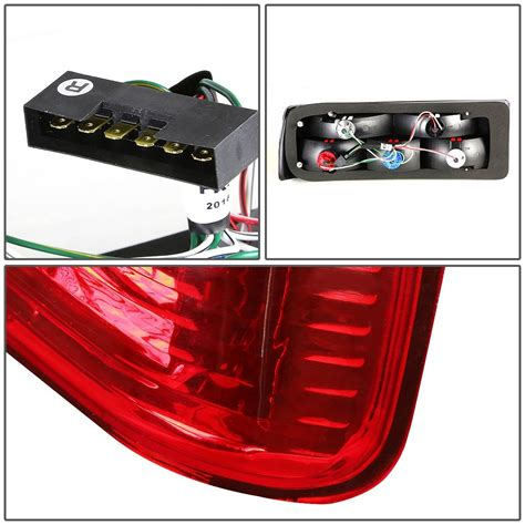 broken tail light cover illegal bmw e30 3 series pair of smoked lens red rear brake signal