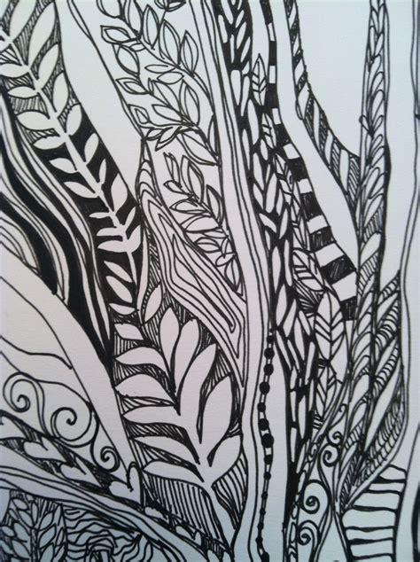 doodle nature the sketchbook challenge in the doodle woods