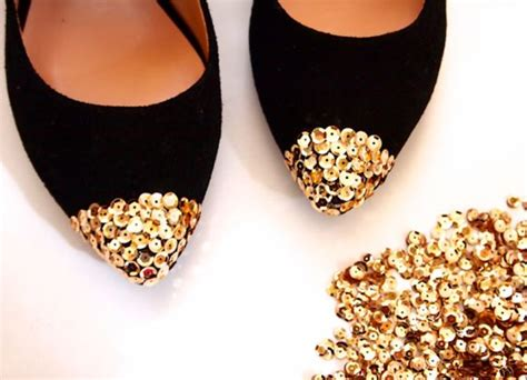 diy sequin shoes flats diy fashion and gifts on