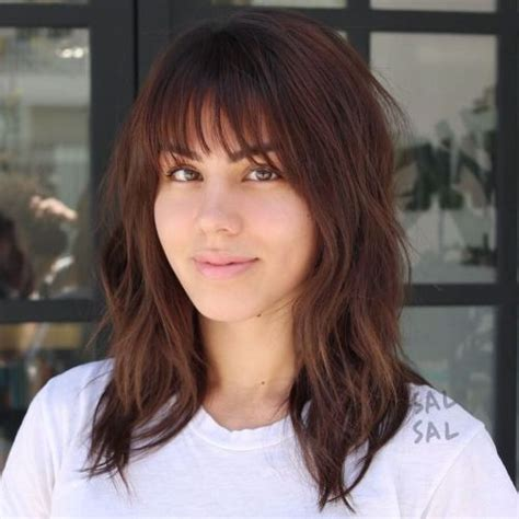wispy fringe style bangs pictures 20 wispy bangs to completely rev any hairstyle