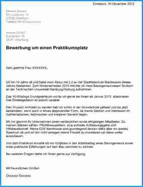 Bewerbung Fur Praktikum Maschinenbau 8 Bewerbung F 252 R Praktikum Rechnungsvorlage