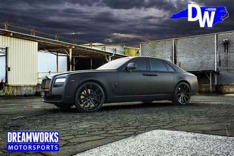 Rolls Royce Ghost Matte Black Linepc