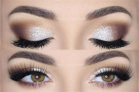 Em Makeup glitter pearl make up tutorial samways