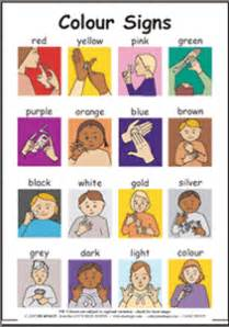 sign language colors widgit symbol resources bsl worksheets to print