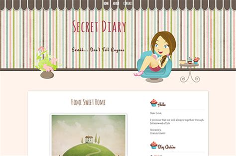 blogger themes diary fashion blogger templates deluxetemplates
