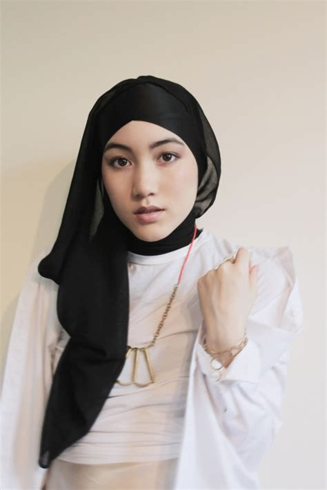 tutorial jilbab hana model gaya jilbab hijab gaul hana tajima simpson maysaa