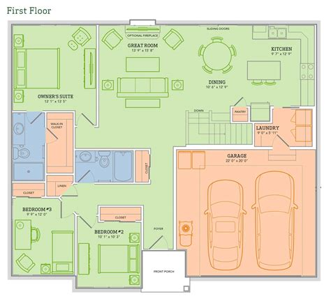 veridian homes floor plans the elaine home plan veridian homes