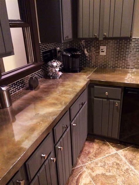 images  concrete countertops  pinterest concrete countertops sink  kitchen