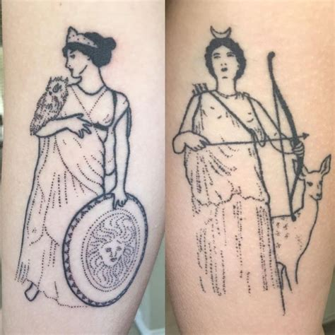 artemis tattoo best 25 artemis ideas on cresent moon