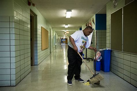 rahm s privatization of school janitors is still a mess on politics chicago reader