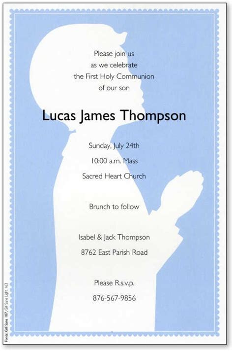 1st communion invitation templates holy communion invitations communion invitation