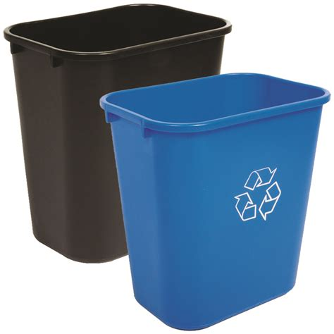 waste basket 28 quart recycling waste basket combo best seller