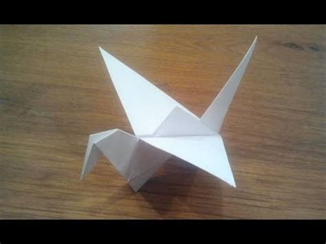 Flapping Origami Bird - hqdefault jpg