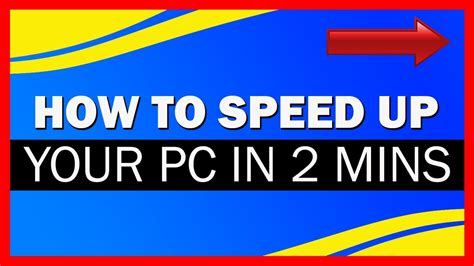 how to speed up your computer heyrichmeister computer speed up how to speed up your pc in 2 mins for