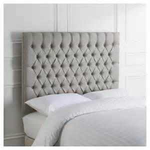 Grey King Size Headboard Buy Henley King Size Upholstered Headboard Grey From Our Headboards Range Tesco
