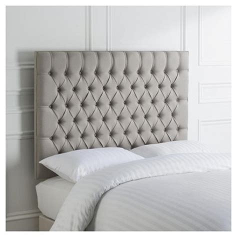 grey double headboard buy henley double upholstered headboard grey from our