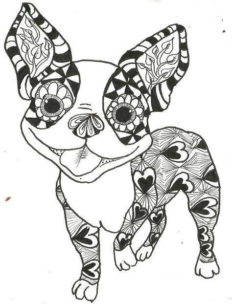 cat zentangle coloring page 1000 images about adult colouring cats dogs zentangles