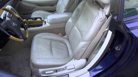best auto repair manual 2012 lexus ct seat position control lexus front seat restoration by cooks upholstery redwood city youtube