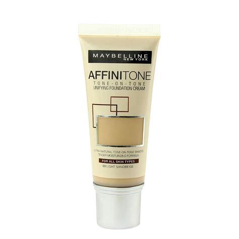 Maybelline Affinitone maybelline affinitone unifying foundation 30ml various shades ebay