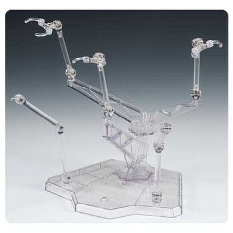 figure flight stands tamashii act trident plus clear figure display