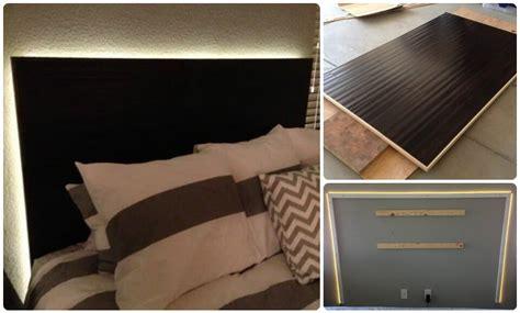 diy headboard with led lights 78 superb diy headboard ideas for your beautiful room