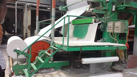 toilet tissue production line plan cotton pulp as