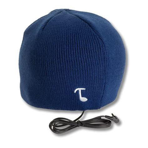 Tooks Beanies With Built In Headphones by Tooks Classic Headphone Hat With Built In Removable
