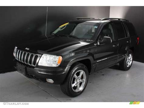 jeep limited black black 2002 jeep grand cherokee limited 4x4 exterior photo