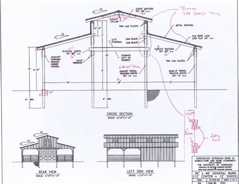 Barn Blueprints | monitor barn plans google search barn designs