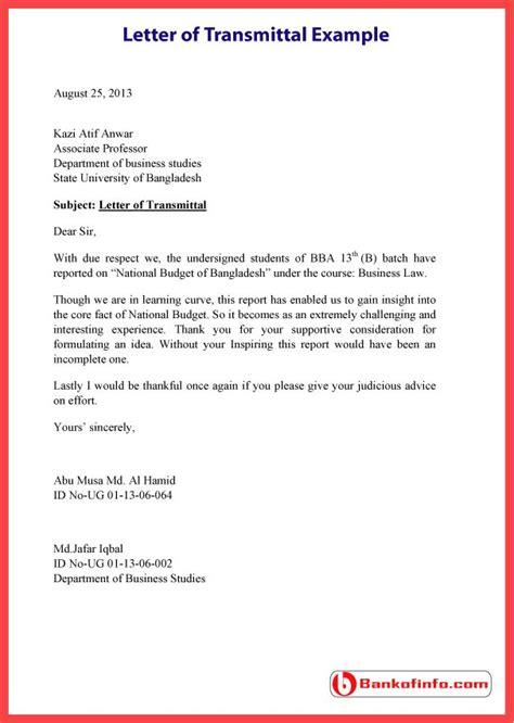 transmittal letter format for report best of 7 transmittal letter
