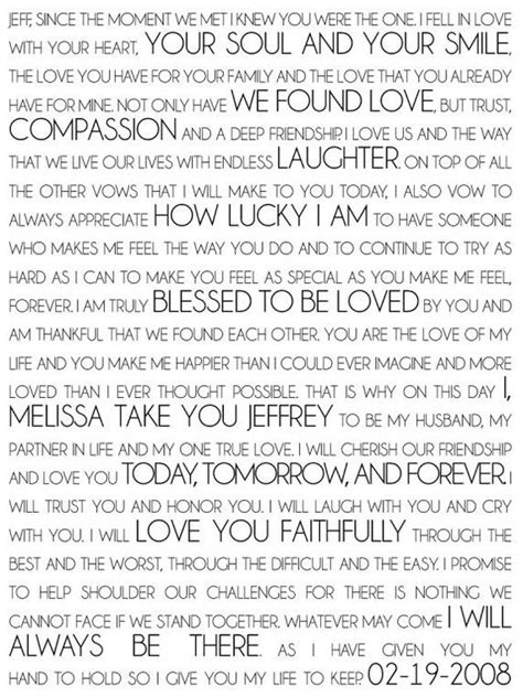 Personalizing Your Wedding Vows by Personalized Wedding Vow By Geezees Weddings