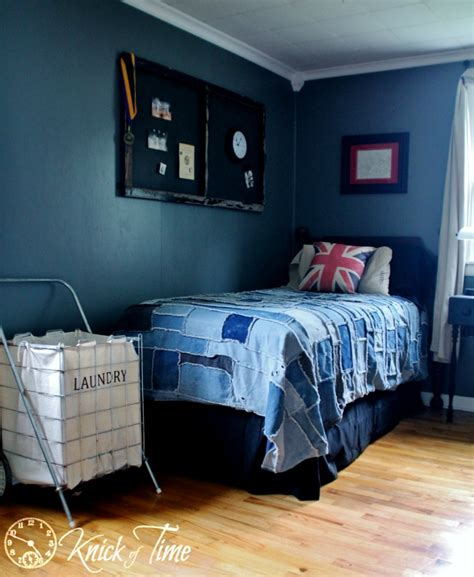 Denim Bedroom Decor by Singing The Blues With Blue Farmhouse Style Knick Of Time