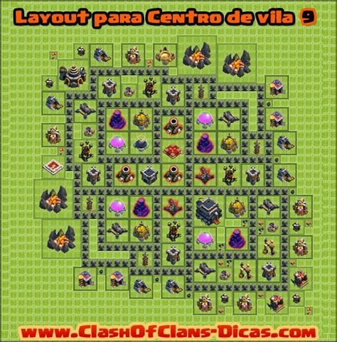layout recursos cv 8 dicas de layouts para clash of clans todos os centro de
