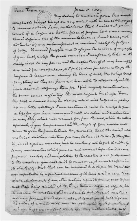 Jefferson Essay by Jefferson Papers 1606 To 1827 The Jefferson Papers At The Library Of Congress