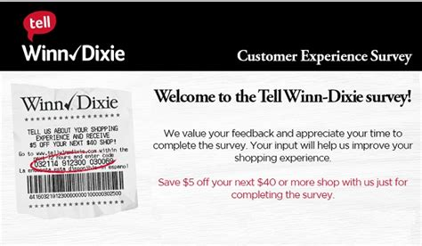 Gift Cards Sold At Winn Dixie - tell winn dixie feedback in customer survey sweepstakesbible