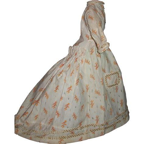 fashion doll vintage early vintage fashion doll dress damage from