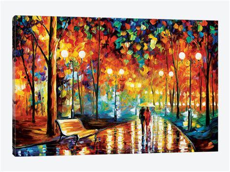 printable art canvas rain s rustle ii canvas art by leonid afremov icanvas