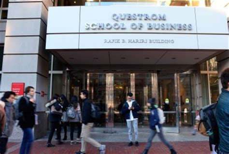 Boston Mba Application Requirements by Questrom Creates Four Day Mba Program For Tech Executives