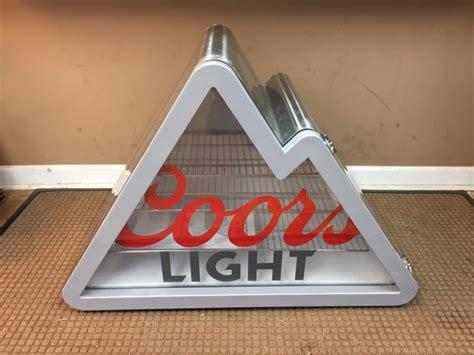 coors light mountain mini fridge coors light refrigerator shop collectibles daily