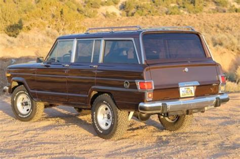 1982 Jeep Wagoneer Find Used 1982 Jeep Wagoneer Limited 5 3l Vortec 4l60e