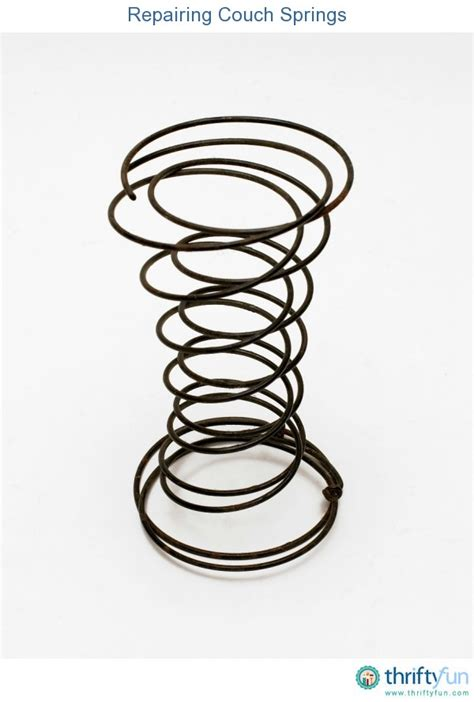 couch repair springs repairing couch springs thriftyfun