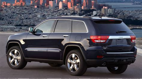 jeep grand cherokee all black jeep grand cherokee 2011 back pose in black wallpaper