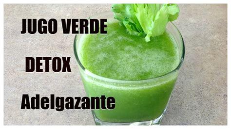 Jugo Detox Quema Grasa by Jugo Verde Adelgazante Depurativo Detox Y Diur 233 Tico