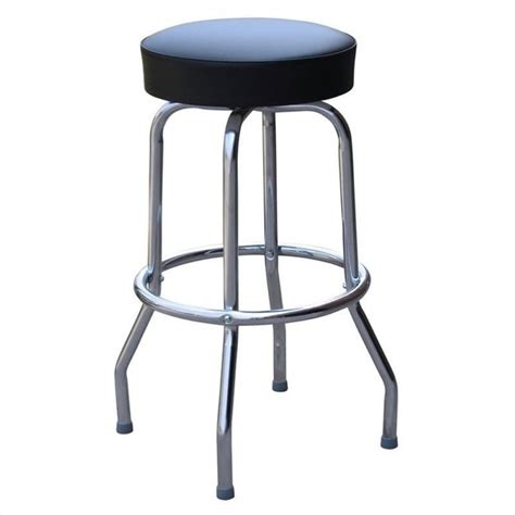 backless black swivel bar stools richardson seating retro 1950s backless swivel bar stool
